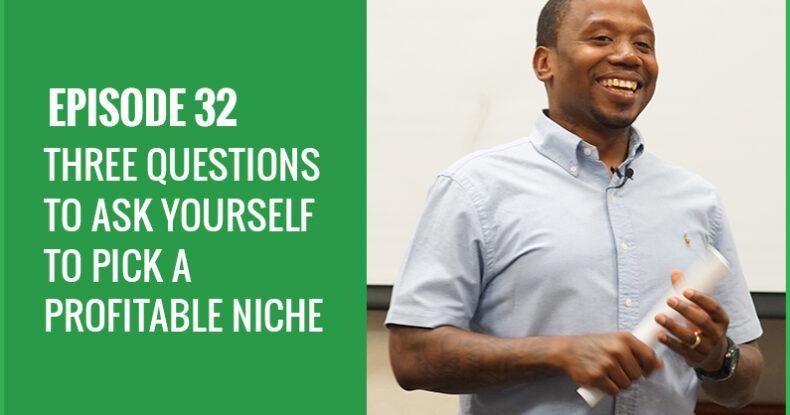 How To Pick A Profitable Niche