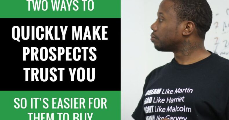 How To Create Rapport - Marquel Russell