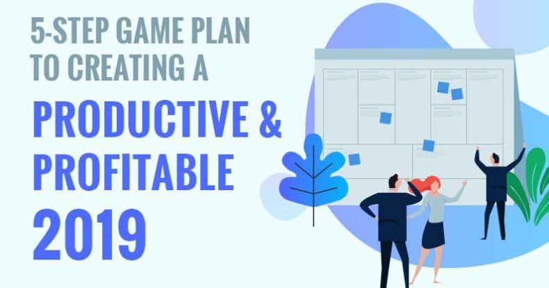 5-Steps Game Plan To Creating A Productive & Profitable 2019