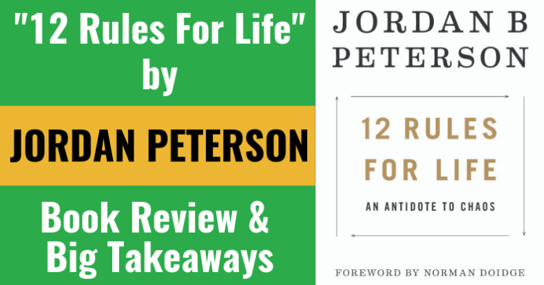 12 Rules For Life Book Review