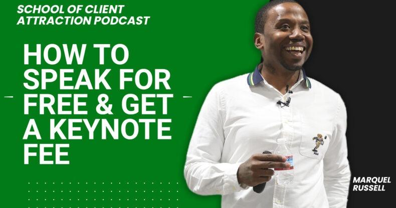 Speak For Free – Get A Keynote Speaker