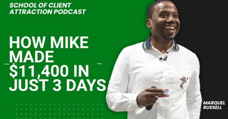 How Mike Made $11,400 in Just 3 Days